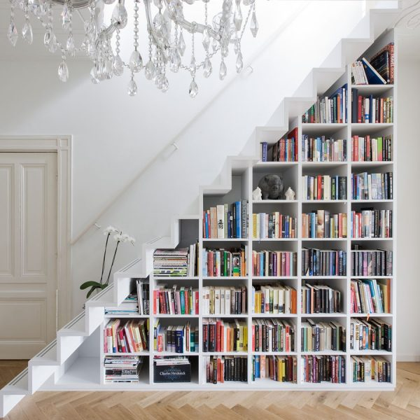 How to organize books without shelves